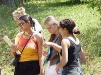 Groupe d'étudiantes