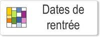 Accueil Dates de rentrée