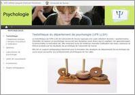 Site Web Département de Pycho